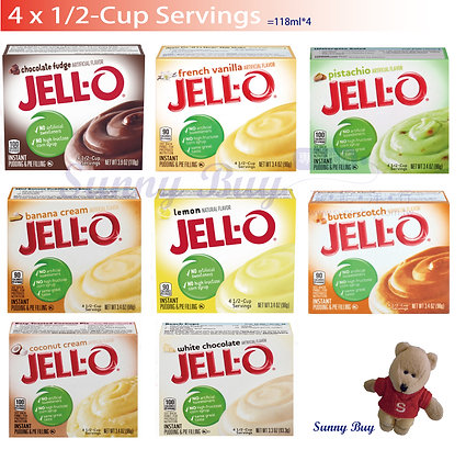 【Sunny Buy】Jell-O Instant Pudding & Pie Filling 4 Servings