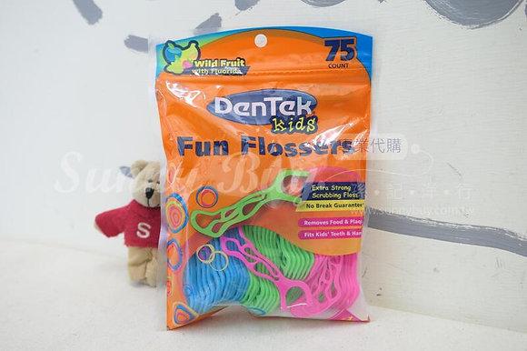 【Sunny Buy】DenTek Kids Fun Flossers 75ct (#16329)