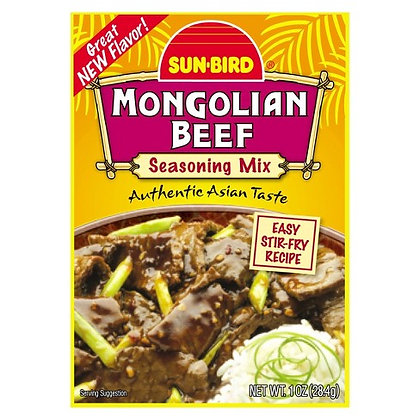 【Sunny Buy】Sun Bird Mangolian Beef Seasoning 1oz (#15956)