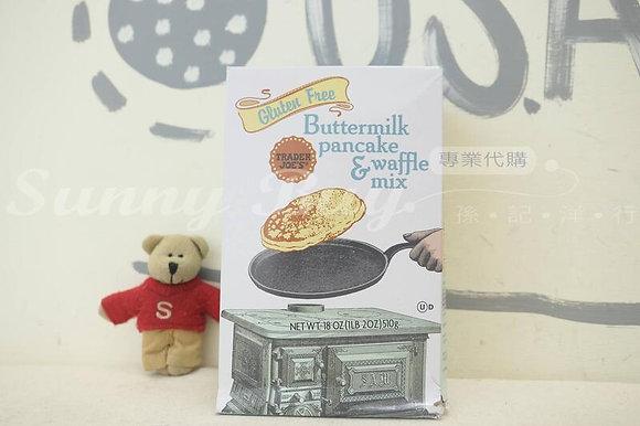 【Sunny Buy】Trader Joe's Gluten Free Buttermilk Pancake & Waffle Mix 18oz(#19333)