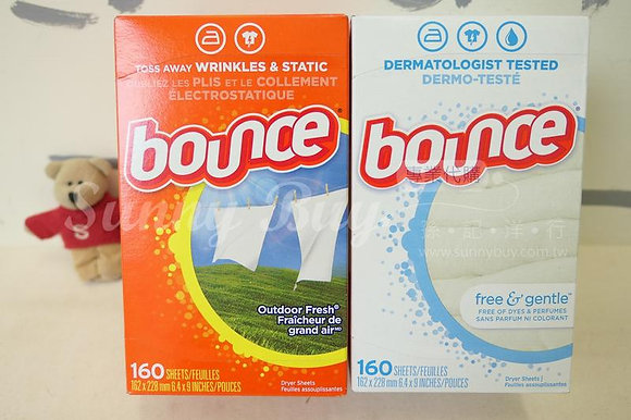 【Sunny Buy】Bounce Fabric Softener Dryer Sheets 160 Sheets (2 Kinds)