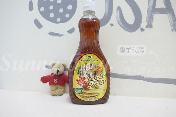 【Sunny Buy】Natural Park Maple Syrup 25.42oz (#12784)