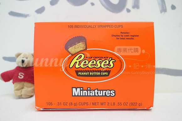 【Sunny Buy】Reese's Miniature Cups 105ct Box 2lb.55oz (#14981)