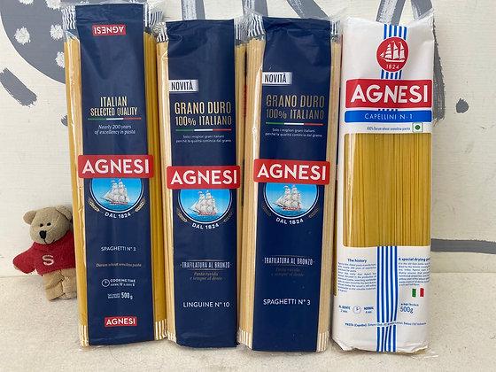 【Sunny Buy】Agnesi Spaghetti / Linguine / Cpellini, Angel's Hair 500g Pasta