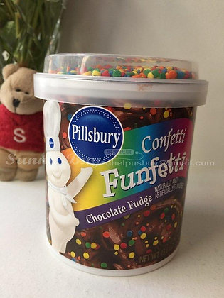 【Sunny Buy】Pillsbury Funfetti Chocolate Fudge Frosting 15.6oz (#1405)