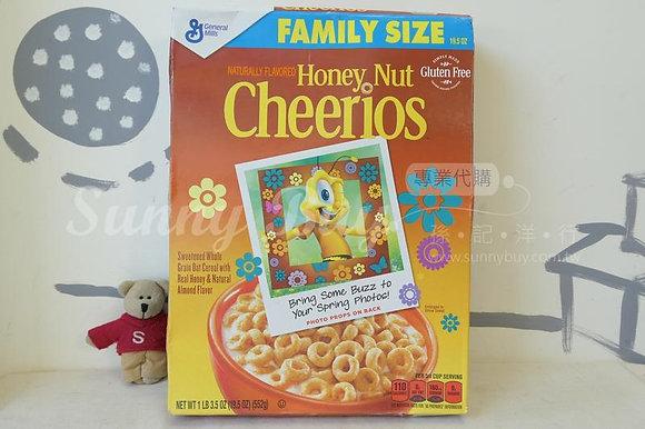【Sunny Buy】Cheerios Honey Nut Cereal Family Size 19.5oz (#11847)
