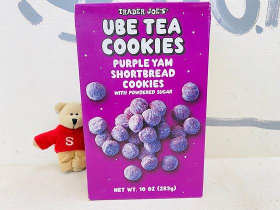 【Sunny Buy】 Trader Joe's UBE Tea Cookies 10oz (#20014)
