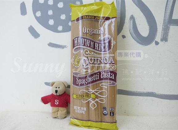 【Sunny Buy】Trader Joe's Organic Brown Rice Spaghetti Pasta 16oz (#16218)