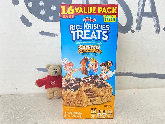 【Sunny Buy】Kellogg's Rice Krispies Treats / Caramel Chocolatey Chunk 16 bars