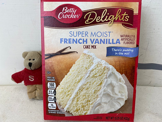 【Sunny Buy】Betty Crocker French Vanilla Cake Mix 15.25oz (#17808)