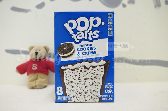 【Sunny Buy】Pop-tarts Frosted Cookies & Creme 8 Tasters 13.5oz (#1588)