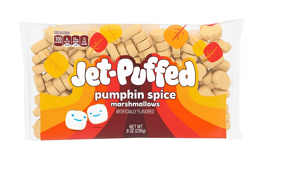 【Sunny Buy】Jet-Puffed Pumpkin Spice Marshmallows  8oz (#17916)