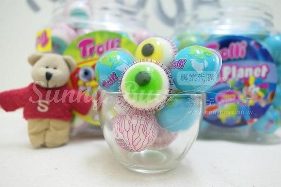 【Sunny Buy】Trolli Pop Eye & Blue Planet Gummy with Filling (#11290/13362)