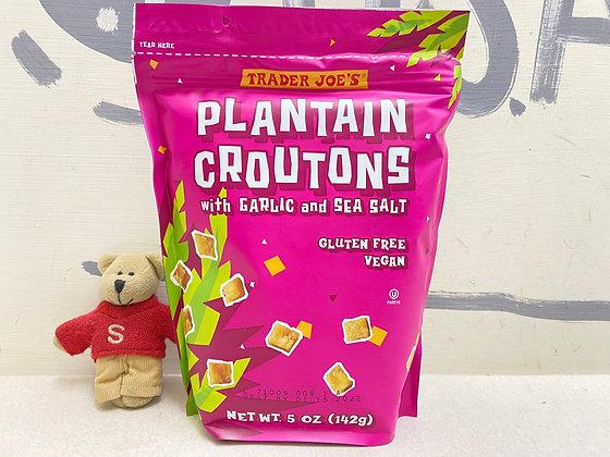 【Sunny Buy】Trader Joe's Plantain Croutons With Garlic And Sea Salt 5oz (20304)