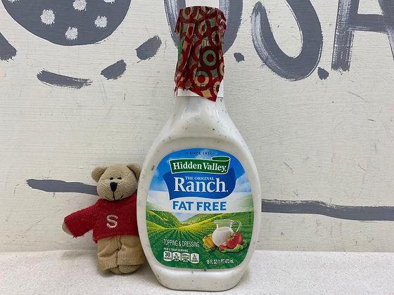 【Sunny Buy】Hidden Valley Ranch Dressing / Fat Free  16oz (#16137)
