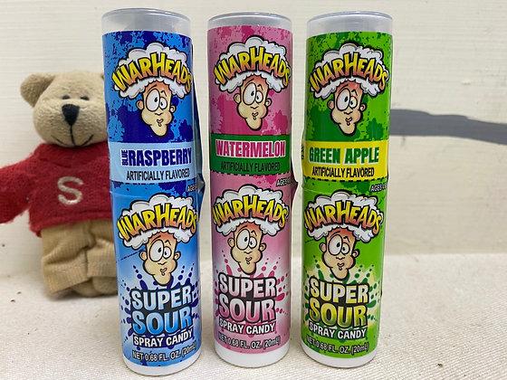 【Sunny Buy】Warheads Sour Spray Candy 0.68oz