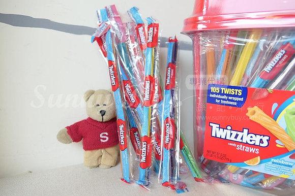 【Sunny Buy】Twizzlers Rainbow 10 Straws (#8236)