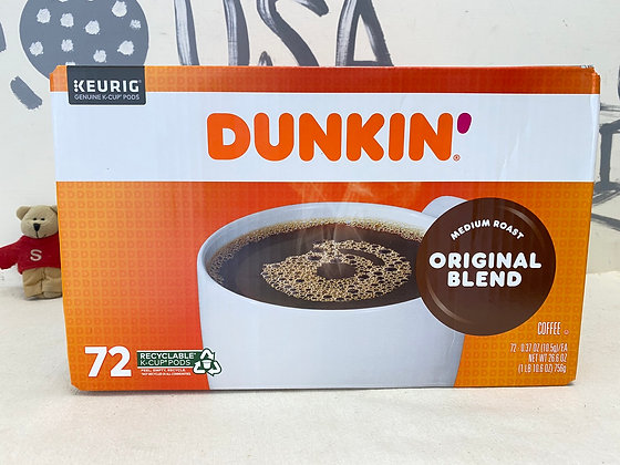 【Sunny Buy】 Dunkin Donuts K-Cup 72ct / Original Blend (#20614)