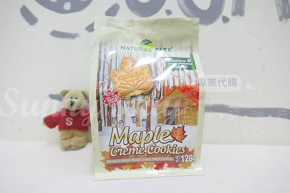 【Sunny Buy】 Natural Park Maple Creme Cookies 128g (#18807)