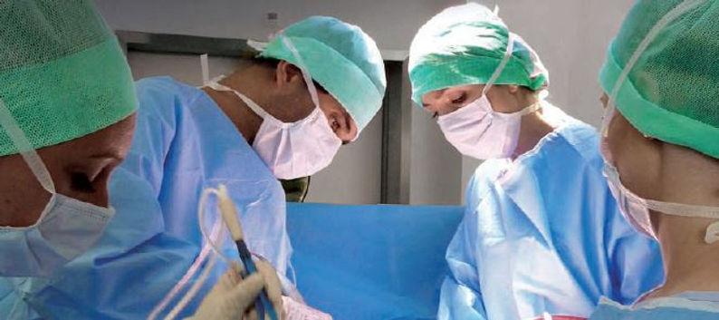 Bloc opératoire chirurgie digestive