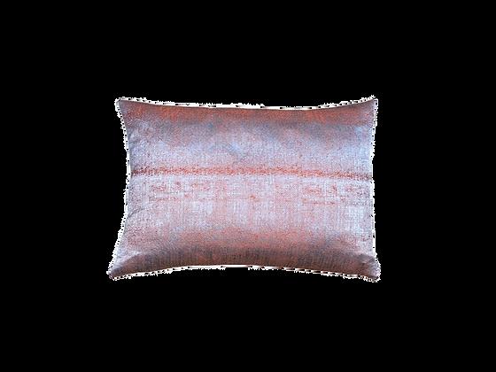 Cushion Marsala on Gray