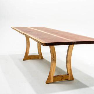 8' Walnut Dining Table