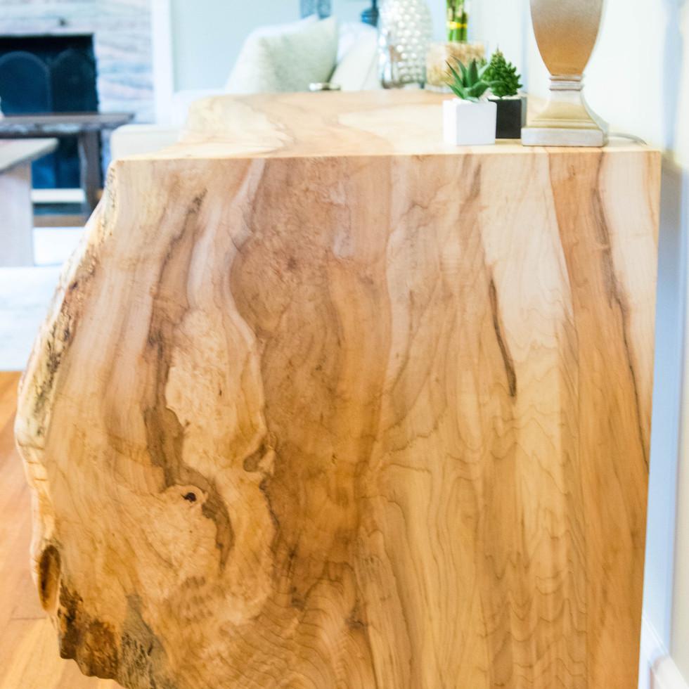 Maple Waterfall Desk