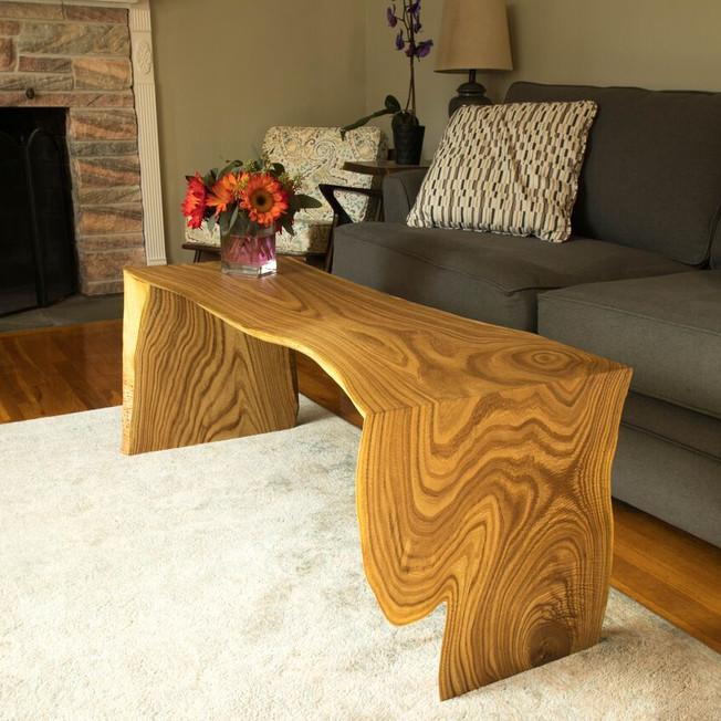 Amur Cork Waterfall Coffee Table/Bench