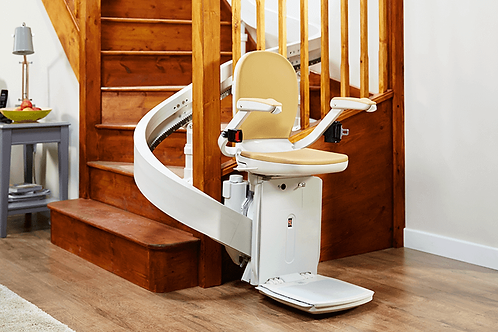 Acorn Curved Stairlift Acorn Straight Stairlift