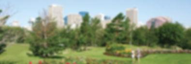 An Edmonton park