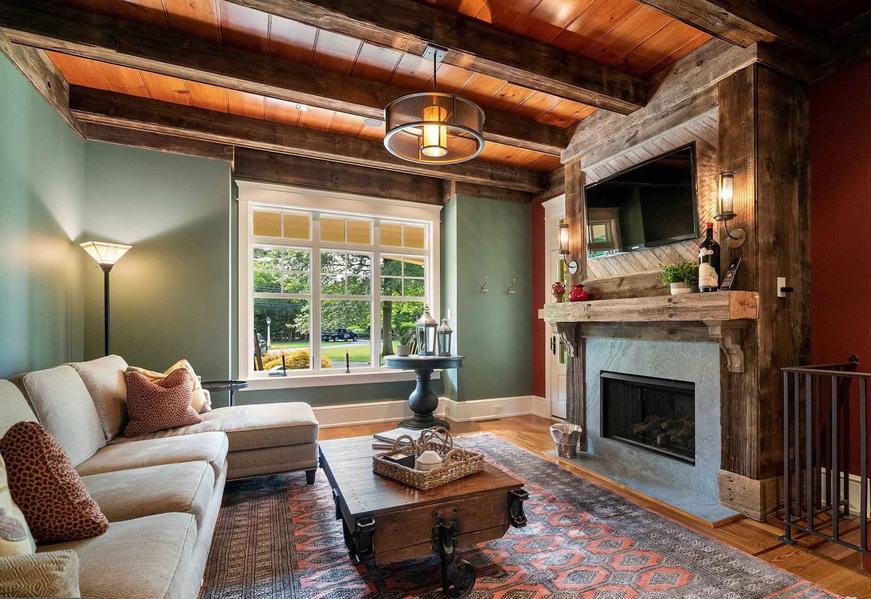 Rustic Living Space