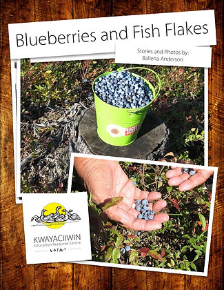 Blueberries and Fish Flakes (Pemmican)