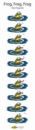 Frog, Frog, Frog Poster
