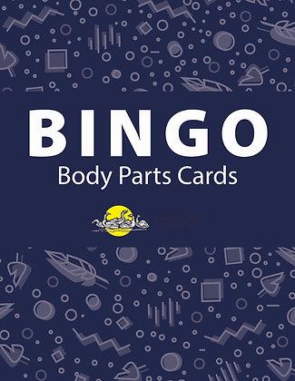 Body Parts Bingo Cards