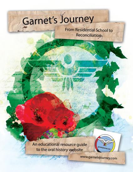 Garnets Journey Book Design