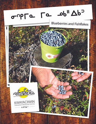 Blueberries and Fish Flakes - Cree