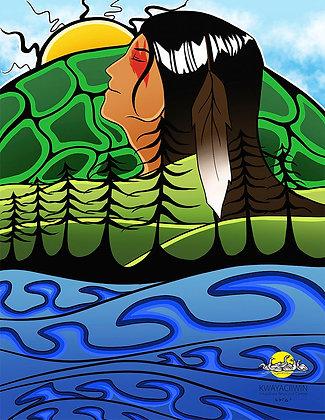 Turtle Island Poster 1