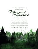 Margaret's Retirement Party Invites