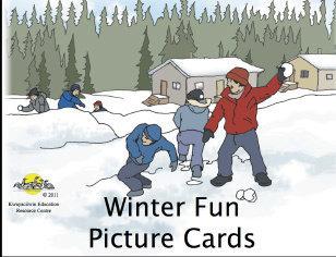 Winter Fun Flashcards