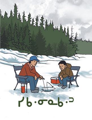 Signs of Spring - Oji-Cree Syllabics