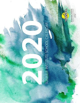 Summer Institute Calendar