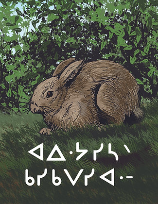 Where Animals Live - Oji-Cree Syllabics