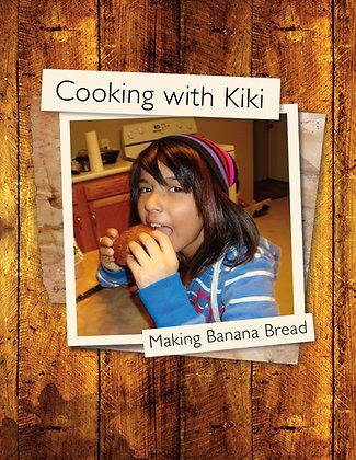 Cooking with Kiki Making Banana Bread