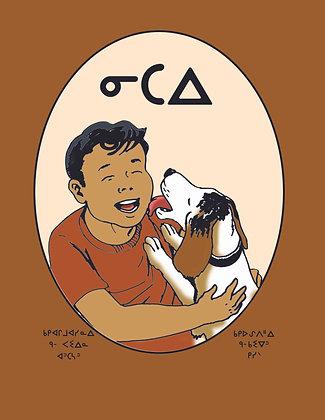 My Dog - Oji-Cree Syllabics