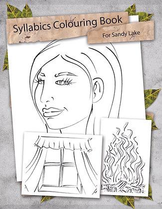 Syllabics Colouring Book (Sandy Lake Dialect)