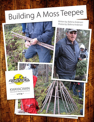 Building a Moss Teepee