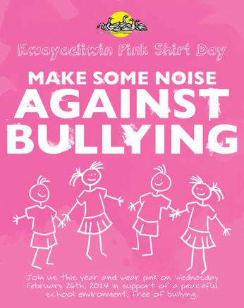 Pink Shirt Day Poster