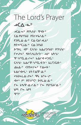 The Lord's Prayer - OjiCree Syllabics