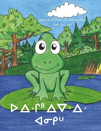 The Helpful Frog - Oji-Cree Syllabics