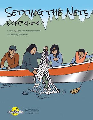 Setting the Nets - OjiCree Syllabics